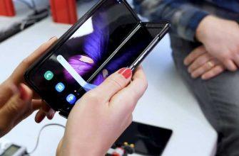 Тест Samsung Galaxy Fold наресурс при изгибе: дисплей восстанавливает себя сам